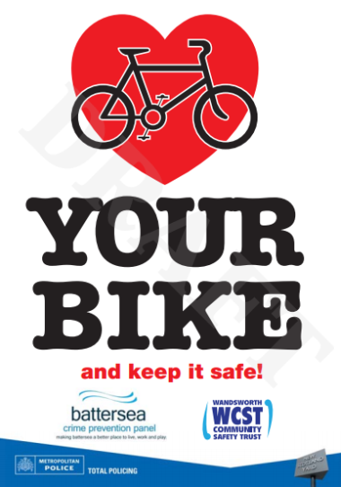 Love your bike campaign poster